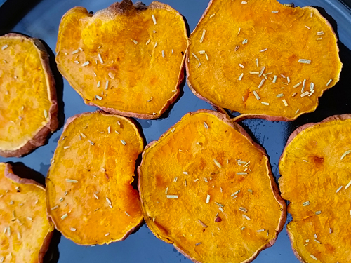 Sweet Potato Chips - Yum!